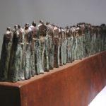 Turn-2. Bronze, steel. 20×100×15.