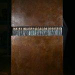 Atlantes. Bronze, steel. 190×110×31