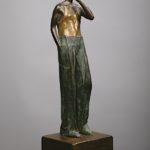 David 1. Bronze, steel. 51×16×19.