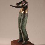 David 2. Bronze, steel. 51×18×15.