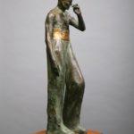 David 3 (Kennedy). Bronze, steel. 72×22×20.
