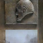 №21. metal, bronze, printing on paper  70 х 40