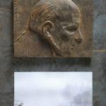 №9. metal, bronze, printing on paper  70 х 40